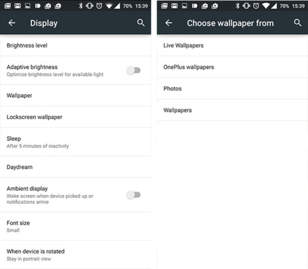 How to change the wallpaper on Lenovo Vibe K4 Note